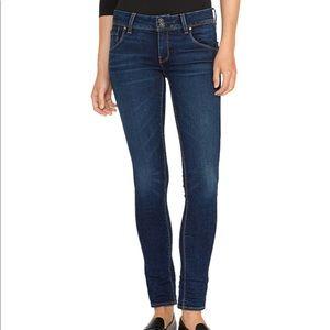 Hudson Collin Midrise Skinny Jean Size 27